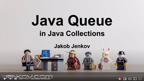 Java Queue Tutorial Video