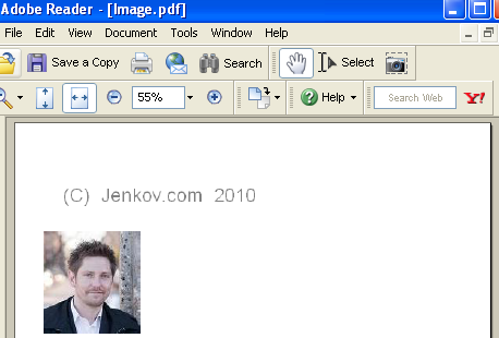 An IText Image example