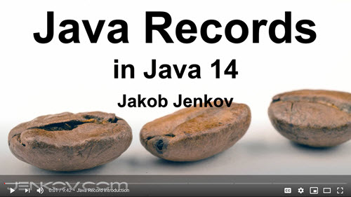 Java Records Tutorial Video